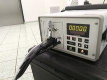 Cząsteczka odpierająca lub Aerosolowy światłomierz zdjęcie royalty free