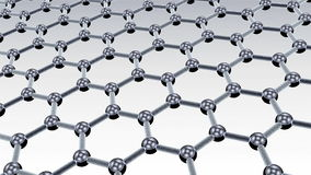 Cząsteczkowy nanostructure ilustracji