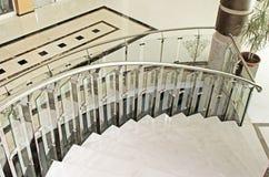 Część ślimakowaty schody Obrazy Royalty Free