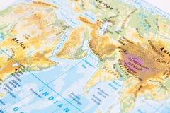 Część światowa mapa Obraz Stock
