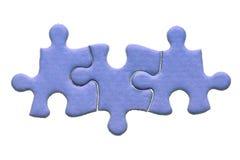 część 3 jigsaw Fotografia Stock