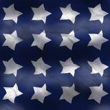 część amerykańskiej flagi Obraz Royalty Free