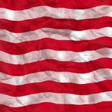 część amerykańskiej flagi Fotografia Stock