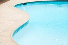 część basenu dopłynięcie Zdjęcia Royalty Free