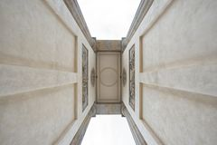 Część Brandenburg brama, Berliński Niemcy Obrazy Stock