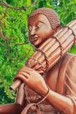 Część Buddha statua Zdjęcia Stock
