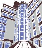 Część budynek ilustracji
