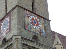 Część czarny kościół w Brasov Zdjęcia Royalty Free