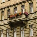 Część europejczyka stary dom Obrazy Royalty Free