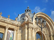 Część fasade petit palais Obrazy Royalty Free