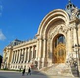 Część fasade petit palais Fotografia Royalty Free
