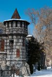 Część forteca obraz stock
