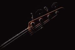 Część Jazzowa Basowa gitara Obrazy Royalty Free