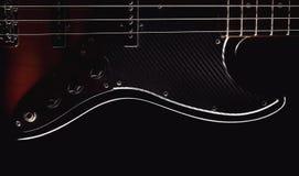 Część Jazzowa Basowa gitara Obraz Royalty Free