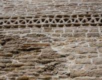 Część kamienna ściana Zdjęcie Royalty Free