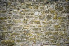 Część kamienna ściana dla tła lub tekstury Fotografia Stock
