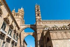 Część katedra Palermo Zdjęcie Royalty Free