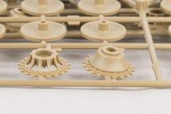 Część klingerytu modela zestaw Zdjęcie Stock
