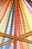 Część koloru namiot zdjęcie royalty free