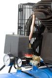 Część kompresor. Fotografia Stock