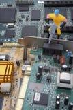 część komputerowa nowa naprawa Obraz Stock