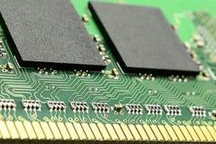 Część komputerowy RAM pamięci moduł Obraz Stock