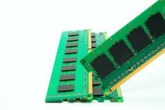 Część komputerowy RAM pamięci moduł Zdjęcia Royalty Free