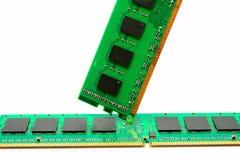 Część komputerowy RAM pamięci moduł Obrazy Stock