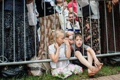 Część korowód dla pokoju w Kyiv Zdjęcia Stock