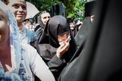 Część korowód dla pokoju w Kyiv Fotografia Royalty Free