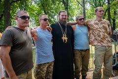 Część korowód dla pokoju w Kyiv Fotografia Stock