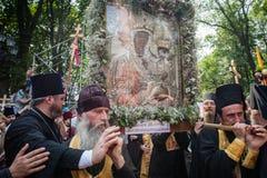 Część korowód dla pokoju w Kyiv Zdjęcie Royalty Free