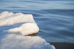 Część lodowy floe Zdjęcie Royalty Free