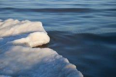 Część lodowy floe Fotografia Stock