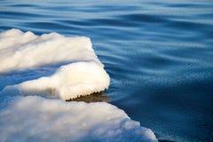 Część lodowy floe Zdjęcia Stock