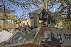 Część pojazd wojskowy Obrazy Stock