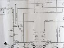 Proces diagram Zdjęcia Stock