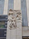 Część Rockefeller centrum, Manhattan, NYC zdjęcia stock