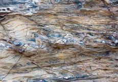 Część skały zakończenie up Obrazy Royalty Free