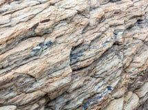 Część skały zakończenie up Fotografia Stock