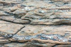 Część skały zakończenie up Fotografia Royalty Free