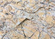 Część skały zakończenie up Obrazy Stock