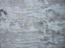 Część sklejkowy panel z strugać bławą farbę Fotografia Stock