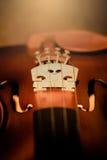 Część skrzypce Obrazy Stock