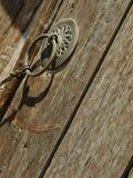 Część stary drzwi Zdjęcia Royalty Free