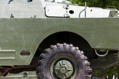 Część stary militarny wyposażenie Fotografia Stock