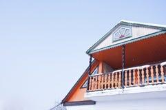 Część stary unikalny dom, Obrazy Royalty Free