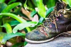 Część starzy buty, wizerunek rocznika styl Zdjęcie Stock