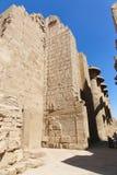 Część statua przy Karnak świątynią - Egipt Fotografia Stock