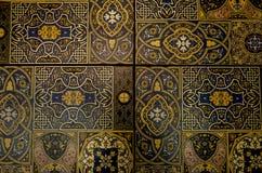 Część Turecka płytka, piękny ornament obraz royalty free